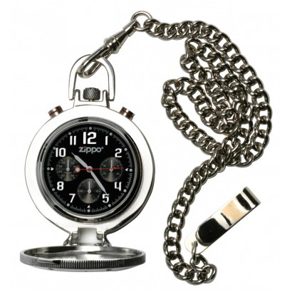 Zippo Men's Chronograph Pocket Watch