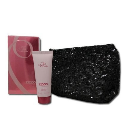 Zippo Women's Kinkekomplekt (75ml EDT + 75ml Body Lotion + Bag)
