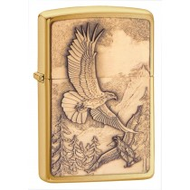 Zippo Sytytin Where Eagles Dare Harjattu Messinki
