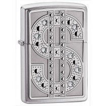 "Zippo Sytytin ""Bling"" Emblem High Polish Chrome"