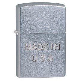 Made In USA Embossed Zippo Sytytin